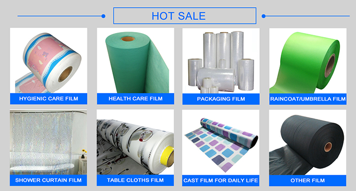 medical material Pe Film Coated Hydrophilic Polypropylene Nonwoven