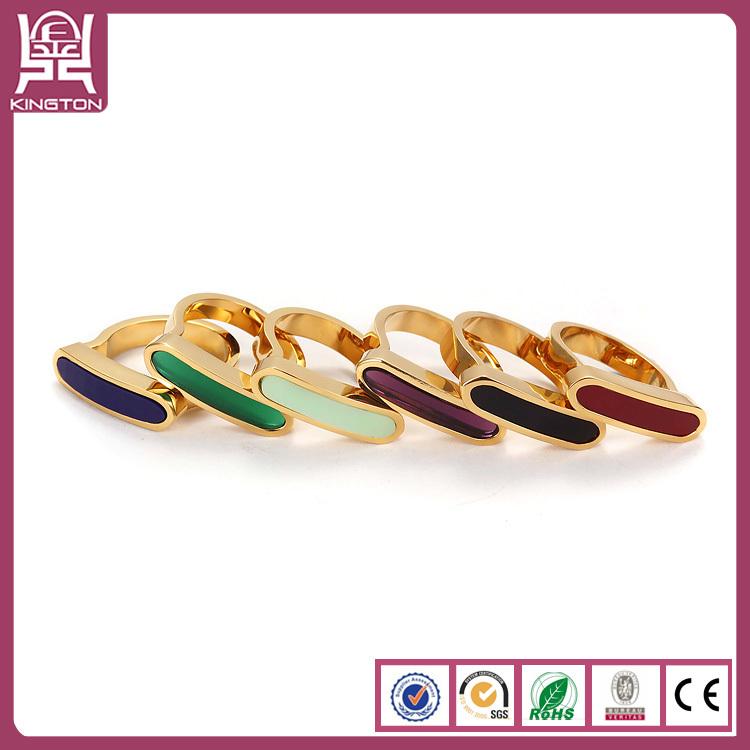 Moldes de anillo de oro cristal de murano anillo de soporte joyer a de acero inoxidable - Anillo cristal murano ...