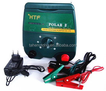 Cattle Solar Powered Farm Electric Fence Energizer Charger