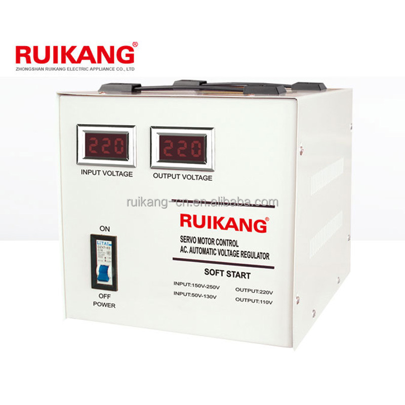 electrical servo motor voltage stabilizer SVC for computer