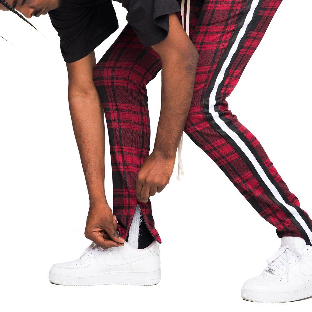 Pantalones De Chandal A Cuadros Rojos Para Hombre A La Moda Buy Pantalones De Cuadros Escoceses Para Hombre Pantalones De Cuadros Escoceses Pantalones De Cuadros Rojos Product On Alibaba Com