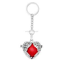 Jewelry Manufacturer wholesale custom cheap angel wing keychains in bulk keychain maker