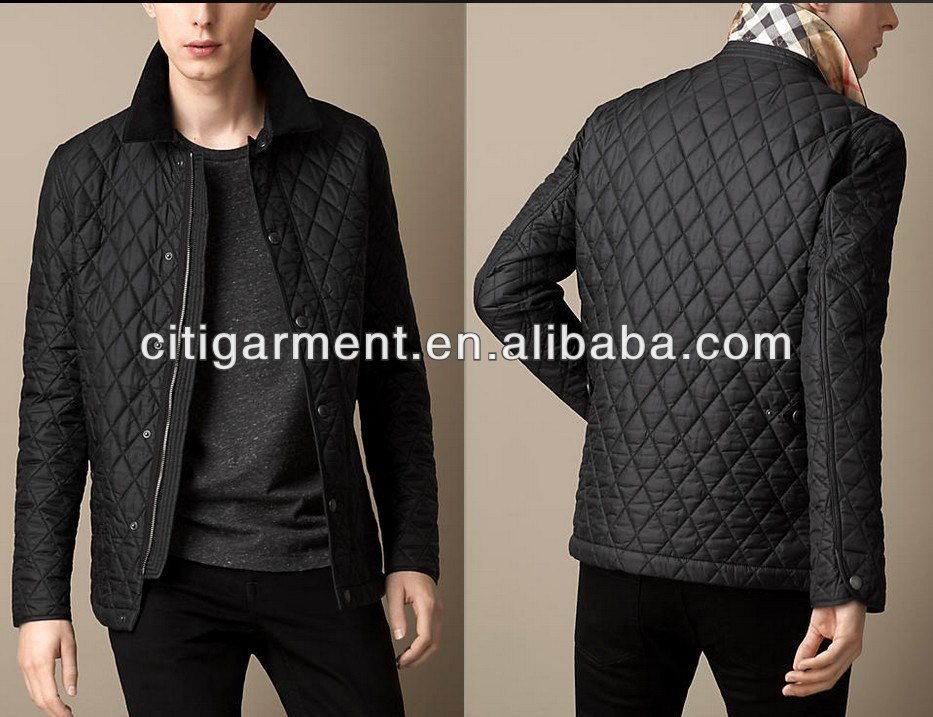 7f0186f74914 Men s Diamond Quilted Jacket - Buy Mens Fancy Jacket