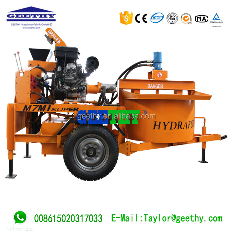 good profitability M7MI Super interlocking brick block machine in kenya video