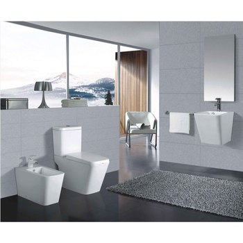 Hot sale Ceramic Sanitary Ware Bathroom Set D8208