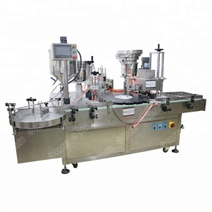 Guangzhou supplier vial filler capper labeller,e liquid bottle filling machine 30ml