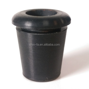 Taiwan supply custom molded EPDM or silicone rubber wire protection bushing.
