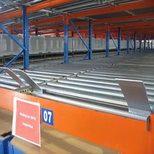 Heavy Duty Gravity Pallet Racks Cold Storage fifo Racking System