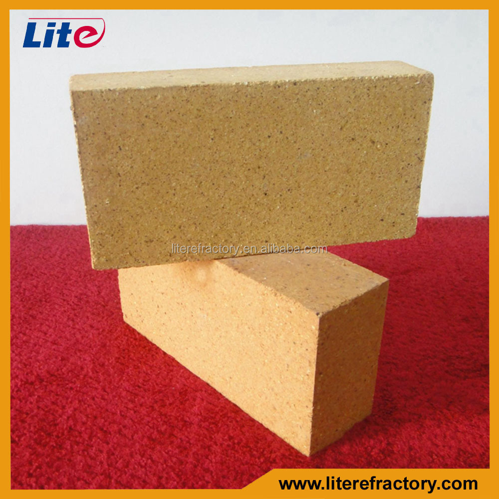 30%-48% Al2O3 lower porosity Refractory fire clay bricks for furnaces china supplier