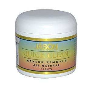 JASON NATURAL PRODUCTS, Quick Clean Makeup Remover - 75 pads ( Multi-Pack) by JASON NATURAL PRODUCTS
