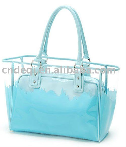 New Design Waterproof Pvc Beach Bag Handbag - Buy Beach Bag ...