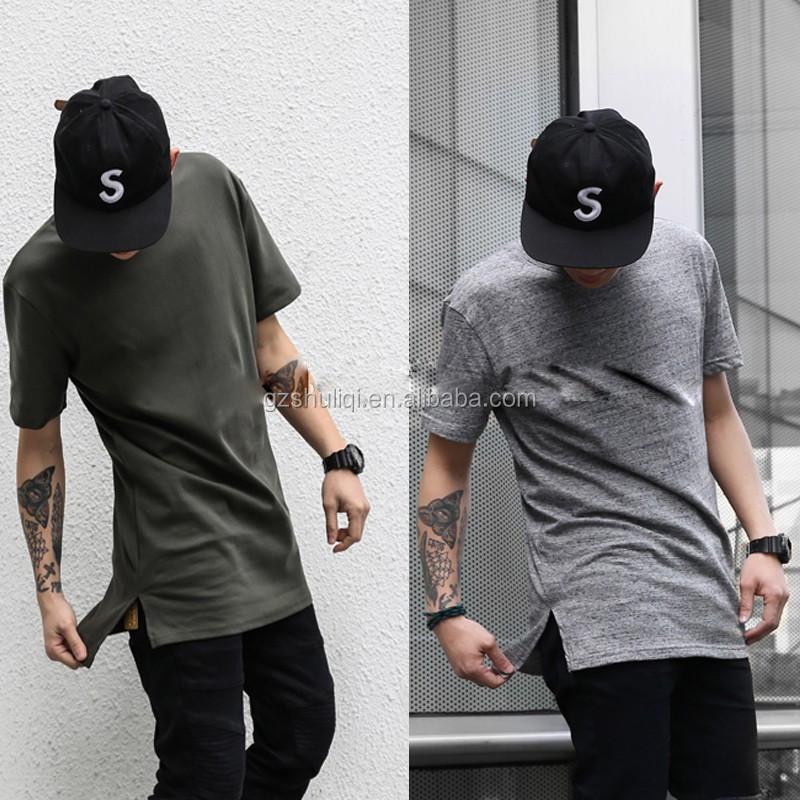 253929ff Short Front And Long Back Fish Tail Elongated T Shirts Design Big Blank  Tall T Shirt T Shirt Fabric - Buy T Shirt Material Fabric,Soft Blank T  Shirts,Lagos ...