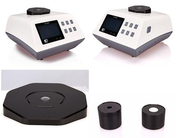 Измерение белизны на спектрофотометре
