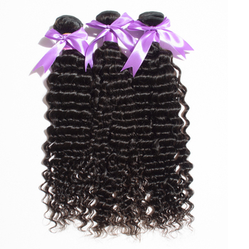 2017 Trending Products Curls Can Be Back Grade 9a Virgin Hair Deep Wave Brazilian Hair Different Types of Curly Weave Hair