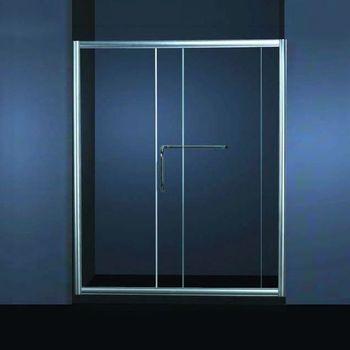 Aluminiumrahmen Umbau Kleines Badezimmer Dusche Schiebeplatten Glas  Duschtür (KD6008)