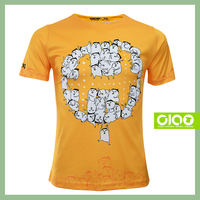 Ciao Sports wear - free shipping white tshirts with curved hem for Finland