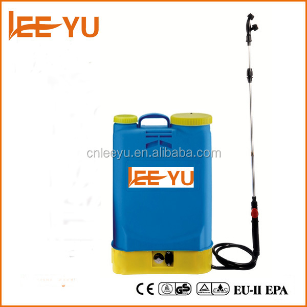 16L battery operated knapsack sprayer
