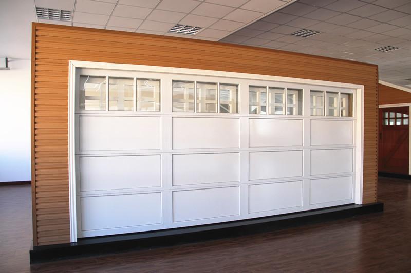 Alluminio porte da garage con la bellezza finestre di