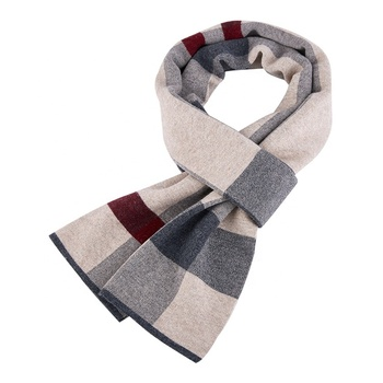 Multicolor light weight scarf male wool shawl