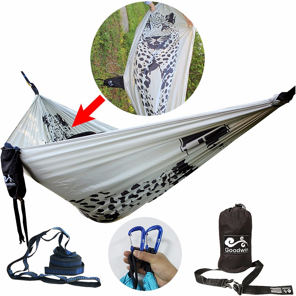 Sporting Goods XL Double Parachute Camping Hammock Camping