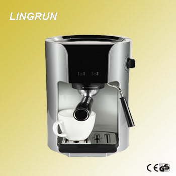 20 Bar 3 in 1 function pump pressure coffee maker/espresso automatic coffee maker with milk frother