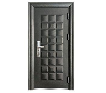 Bomei Factory Exterior Security Steel Double-layer Door With Steel ...
