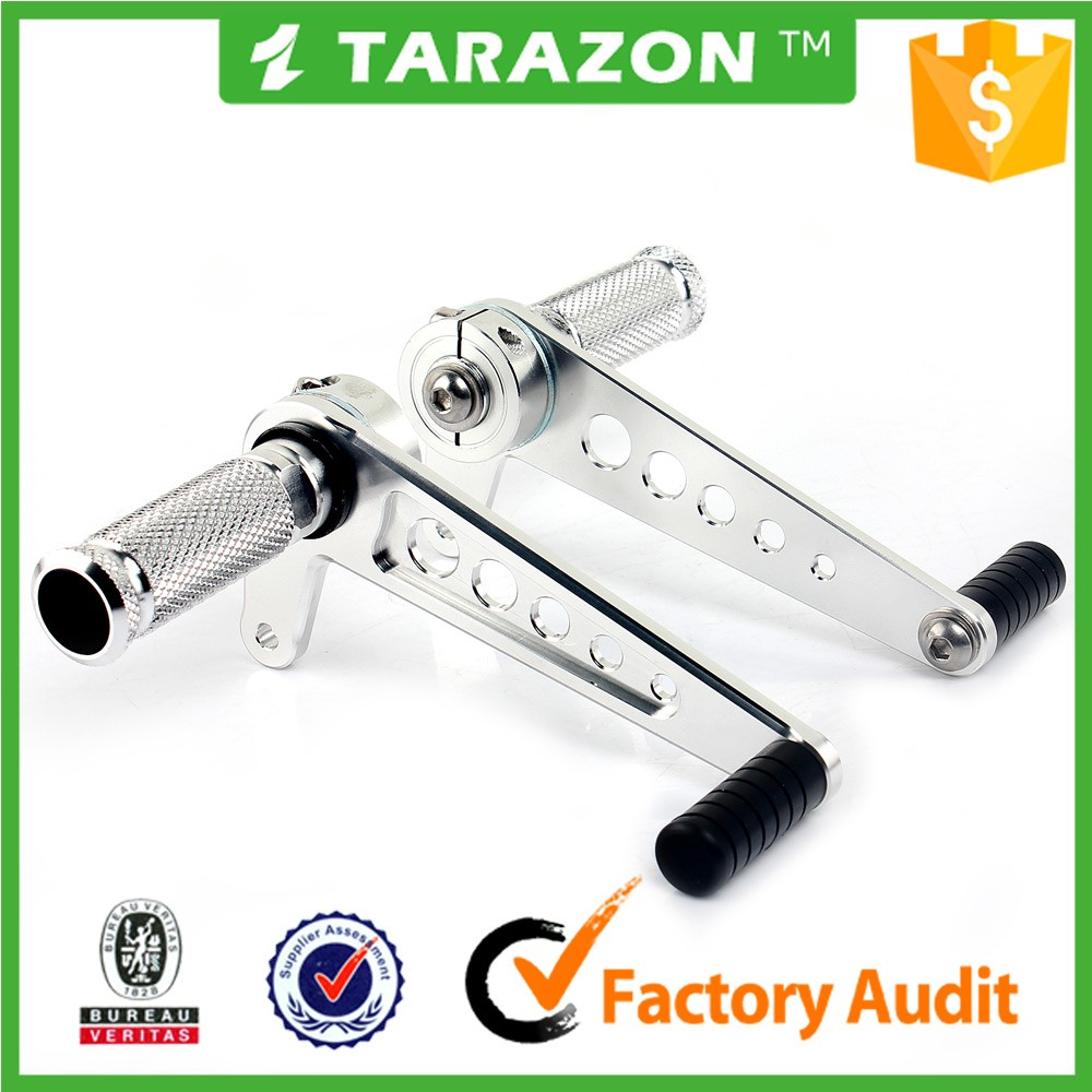 Tarazon Cafe racer universal foot control pegs for Honda CB400