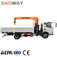 China small mobile electric motor pickup hydraulic truck crane manufacturer