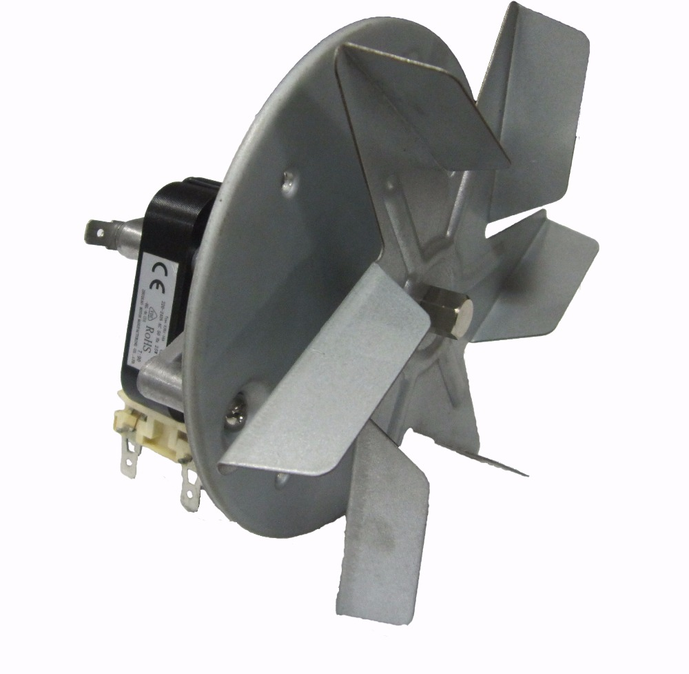 Gas oven motor turbo fan shaded pole motor