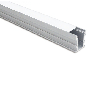 21.3mm*26.1mm Road Floor Recessed T-Slot aluminum profile for LED strip  with 3mm Thick Strong Cover