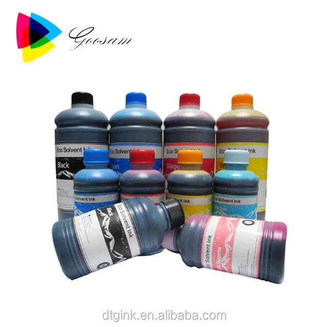 For Epson L1300/l1800 With Dx5 Head Eco Solvent Ink For Banner Printing -  Buy Dx5 Head Eco Solvent Ink,Solvent Ink,Eco Solvent Ink Product on