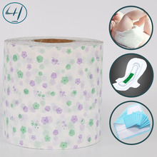 Soft Hardness and PE Material Sanitary plastic film roll