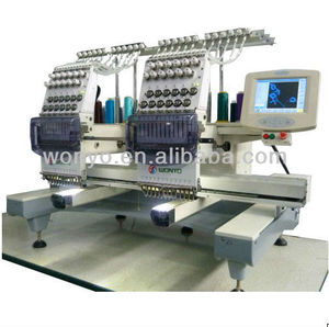 WONYO bordadoras computarisadas tajima 2 HEADS embroidery machine Price