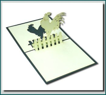 Cock 3d pop up greeting card buy pop up greeting cardspop up cock 3d pop up greeting card m4hsunfo