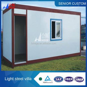 Basso Costo 2 * 20ft Container House Con Camera Da  Letto/soggiorno/cucina/bagno Portatile Cina Prefabbricata Del Contenitore -  Buy 2 * 20ft Container ...
