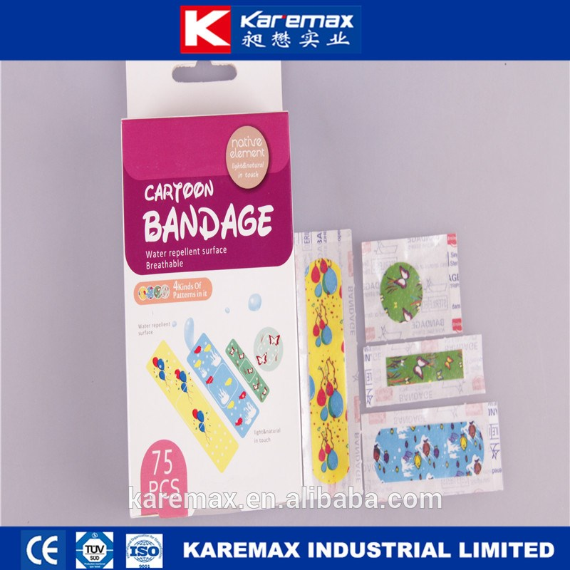 Colored Medical Dressing Wound Care Plaster for Kids