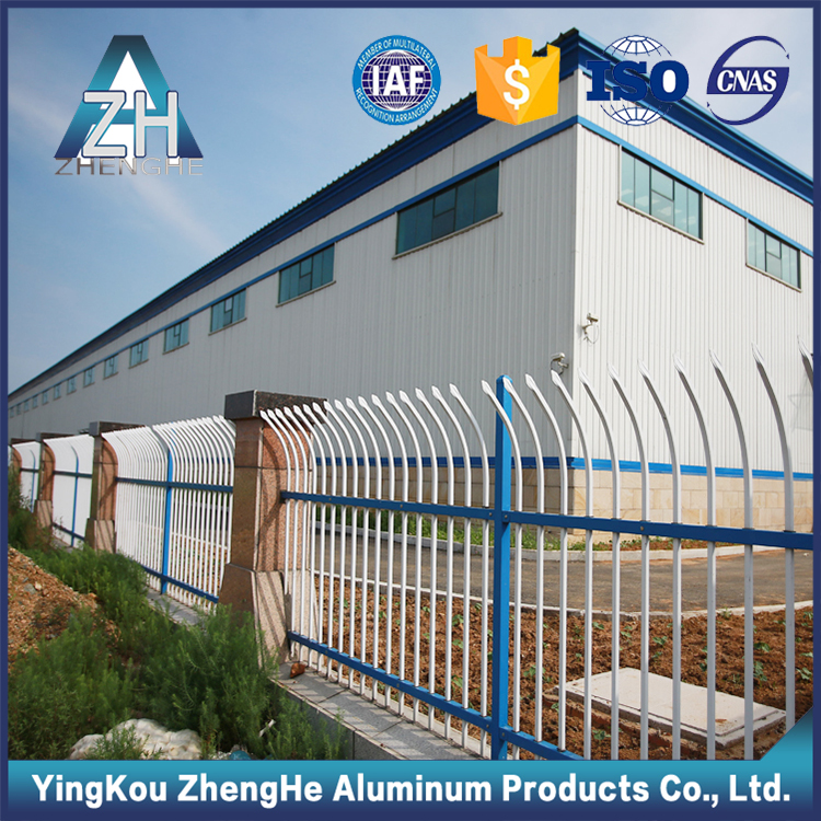 china manufacturer powder coated aluminum fence post and panels
