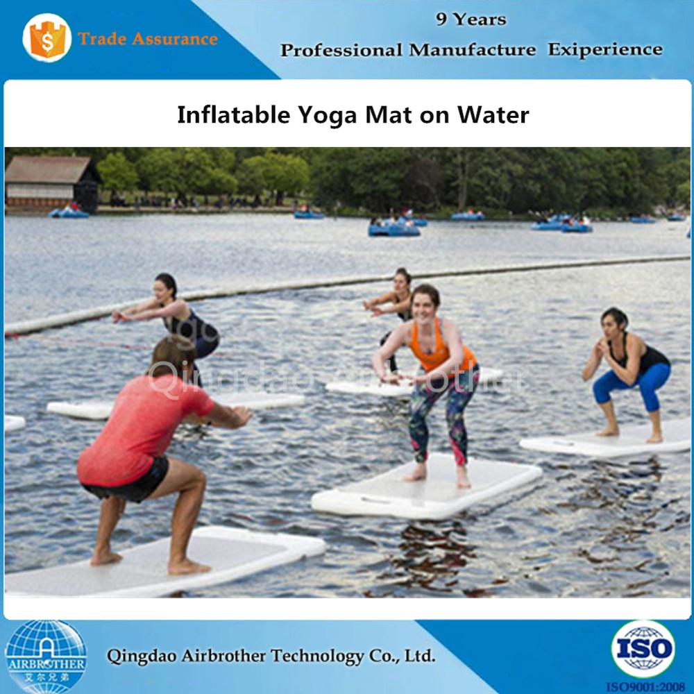 for alibaba suppliers sale showroom island floats floating water mat mats inflatable wholesale
