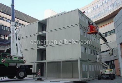 Light steel prefabricated container house for dormitory