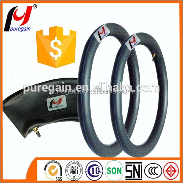 adult electric motorcycle 300-18 butyl tube motorcycle butyl tube for Brazil market