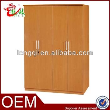 Simple Home Furniture Mdf 4 Door Wardrobe Clothes Closet Buy 4