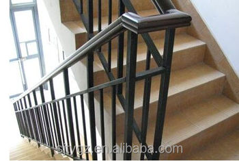 Square Pipe Wrought Iron Stair Railing From China