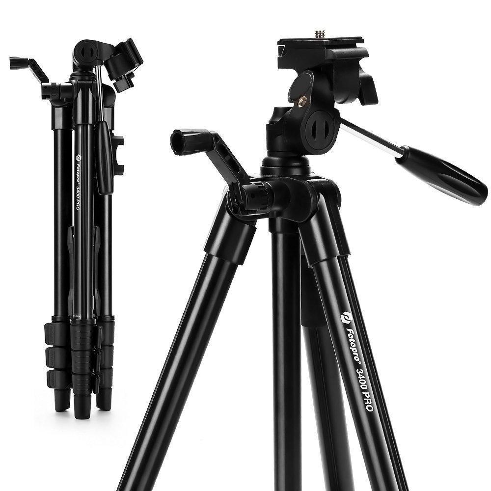 FOTOPRO outdoor aluminium draagbare lichtgewicht camera accessoires DIGI-3400 PRO voor DSLR camera, Telefoon