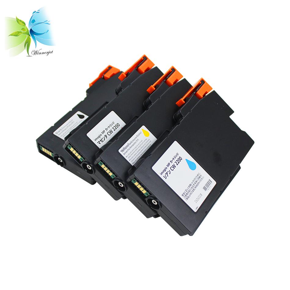 Genuine Ricoh Black Ink Cartridges For Aficio MP CW2200 CW2201 CW1200 CW1201