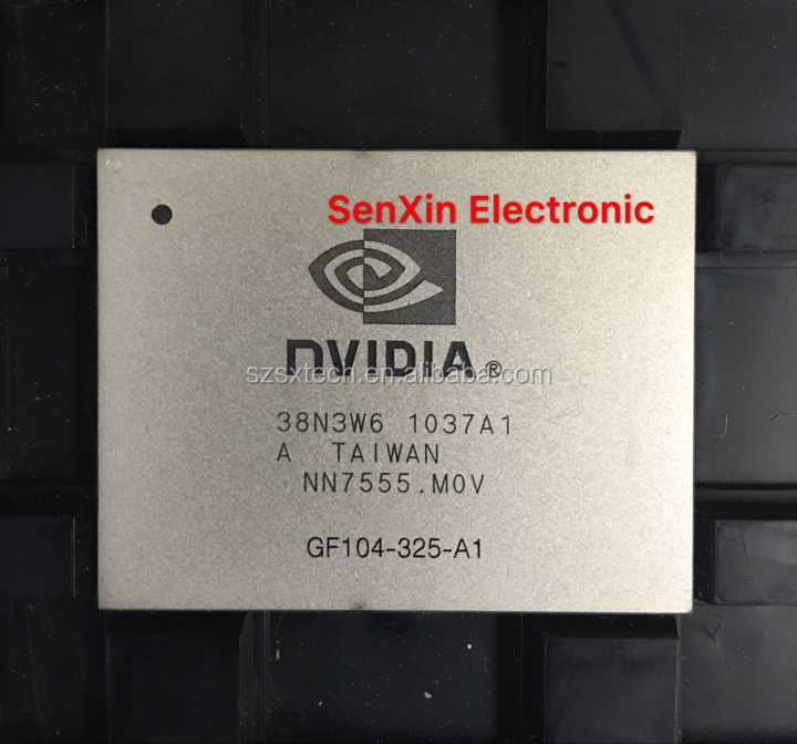 1 Pcs Nvidia Gf104-325-a1 Gf104 325 A1 Bga Chip With Ball Tested ...