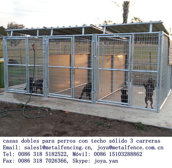 Perreras dobles para perros de gran 2013 nueva port til de - Cercados para perros ...