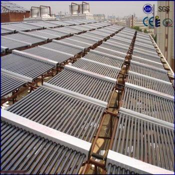 58mm tube non pressure manifold homemade solar hot water heater