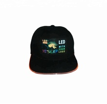 2019 new arrival led snapback hats, LED 야구 <span class=keywords><strong>스포츠</strong></span> 와 <span class=keywords><strong>캡</strong></span> customized logo 도매
