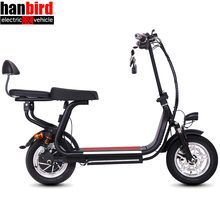 Hanbird 250W Lithium Battery Lightweight Electric Kids 2 Wheel Folding Mobility Scooter