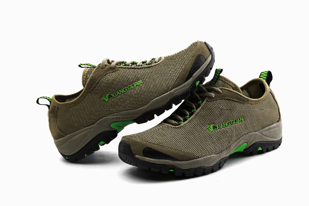 2015 Hiking comfortable breathable Men&Women  Anti-Skid Upstream shoes Climbing  lycra  Air Mesh Shoes  Breathable Outdoor Shoes